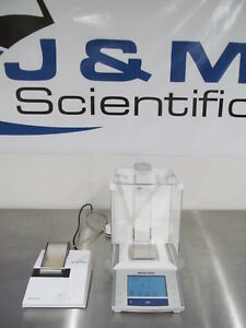 Mettler Xs204 Analytical 4 place Balance With Rs p42 Printer