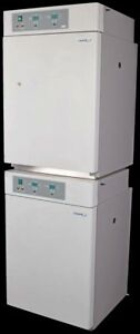 Sheldon vwr 2350 8 To 60 C 13 4 Cu ft Dual Stacked Co2 Water Jacketed Incubator