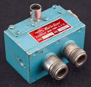 Narda Microline 61a1 53 Industrial Waveguide Microwave Rf Coaxial Mixer
