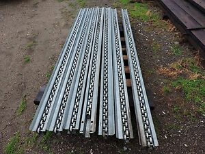 Unbranded Straight Flow Rail 10 Foot 2 Wheel One Item