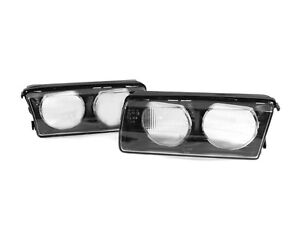 Replacement Glass Lens Pair For Bmw E36 3 Series Depo Zkw Euro Headlight