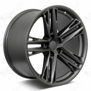 20 Gunmetal Staggered Wheels Rims 2018 Zl1 1le Style Fits Chevrolet Camaro