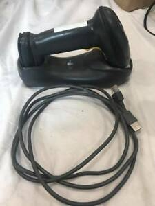Zebra motorola Li4278 Wireless Barcode Scanner With Cradle And Usb Cable