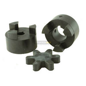 1 1 4 Motor Shaft Flexible Jaw Coupler Rubber Spider L100 Lovejoy Coupling