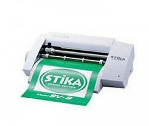 New Roland Dg Design Cutter Stika 8 Sv 8 Create Colorful Custom Stickers Ems