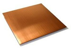2 X 12 Copper Sheet Plates 12 pack 16oz 24 Gauge Free Priority Shipping