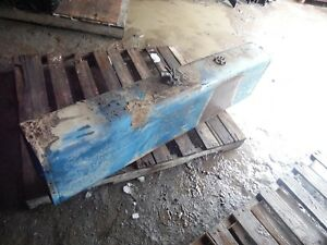 Ford Tw 35 Series 2 Farm Tractor Auxiliary Fuel Tank clean Inside