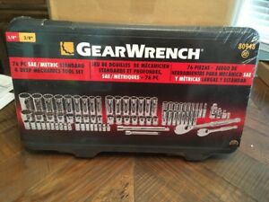 Gearwrench 76 Pc Sae Metric Tool Kit New In The Box