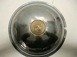1940 S Cadillac Sombrero Custom Rat Rod Cruiser Wheel Cover 15 Moon Hubcap