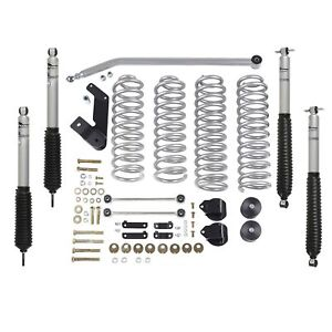 Rubicon Express 3 5 Lift Kit W Mono Tube Shocks 2007 2018 4 Door Jeep Wrangler