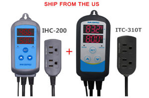 Pre wried Temp Controller Timer Itc 310t Humidity Control Ihc 200 Hygrostat Us