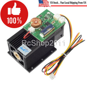 450nm 445nm 15w 15000mw High power Blue Laser Module Engraving Wood Metal