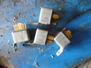 1986 Ford Tw 35 Series 2 Farm Tractor Electrical Relays