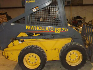 New Holland Ls170 Skid Steer Decal Kit For Your Loader Ls 170 Free Shipping