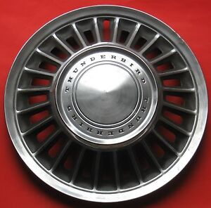 Our Second Best1967 Or 1968 Thunderbird Wheel Cover