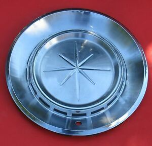 1960 Lincoln Hub Cap 8 Point Star Wheel Cover