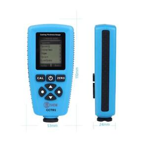 Simple Cct01 Digital Coating Thickness Gauge Meter Probeusb Interface