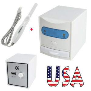 Usa Dental X ray Film Viewer Digitizer Scanner Usb Reader Intra Oral Camera Ce