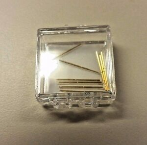 New Tektronix 016 1772 10 Ground Lead Pogo Pin 10 Pins In Each Pack For Probes