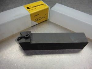 Kennametal Indexable Lathe Tool Holder 1 25 X 1 25 7 Oal Msdnn 206 loc2691b