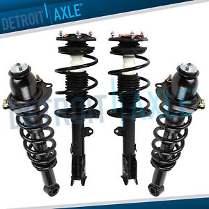 4pc Front Rear Strut Shocks For 2009 2010 2011 2012 2013 Toyota Corolla 1 8l