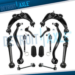 14pc Front Upper Lower Control Arm Tie Rod Sway Bar Link 2007 2008 Ford Fusion