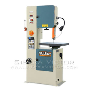 Baileigh Variable Speed Vertical Band Saw Bsv 20vs