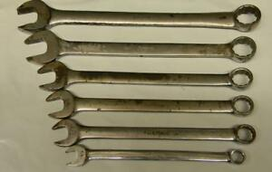 Snap on 6pc Sae 12pt Combination Wrench Set