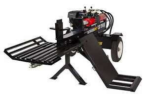 37 Ton Hydraulic Wood Log Splitter Honda Gx390 Gas Engine W Log Lift