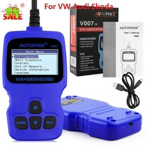 Autophix Obd2 Car Code Reader Abs Srs Epb Oil Reset Auto Scanner Diagnostic Tool