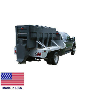 Spreader Commercial Salt Sand Truck Bed Mounted Auger Feed 3 Cy Cap