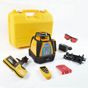 Self leveling Rotary Rotating Laser Level New 500m Range High Accuracy