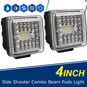 5 Inch 168w Led Work Light Bar Flood Combo Pods Driving Off Road Tractor Ute 12v