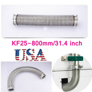 Metal Bellows Hose Kf 25 800mm 31 4 Vacuum Tubing Iso kf Flange Size Nw 25 Us