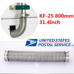 Bellows Hose Metal Kf 25 800mm 31 4 Inch Tubing Iso kf Flange Size Nw 25 In Us