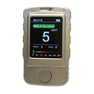 Bramc 3 in 1 Air Quality Monitor Pm1 0 Pm2 5 Pm10 Air Particle Counter