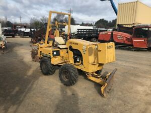 1996 Vermeer V3550 Trencher 1301 Hrs new Tires fresh Service work Ready