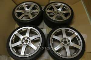 19 Rays Progressiv Te Genuine Jdm Tags Volk Te37 Forged Volks