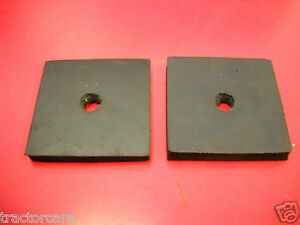 Lot Of 2 Farmall Tractor Radiator Mounting Pad A B C Super 100 140 200 47240d