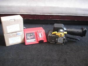Fromm 1 2 Strapping Tool Model P320 Battery Operated Signode Orgapack 12v 4