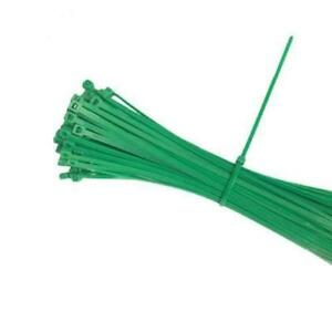 Green 4 Self locking Nylon Wire Cable Zip Ties Cable Ties Hot Tie Wrap Usa Sell