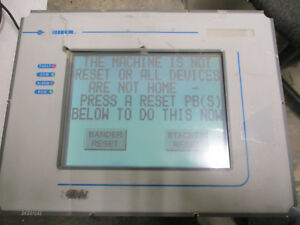 Uniop Ert 16 Touch Screen Display Module S w Fw 33 4 23 Input 24vdc tested