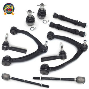 New 10pc Front Upper Control Arm Set Complete Suspension Kit For Gm Trucks