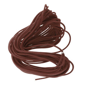 6mm Elastic Bungee Shock Cord Rope Rubber String Elasticated Stretch Round Line