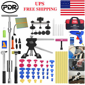 Us Pdr Paintless Dent Removal Dent Lifter Slide Hammer Puller Dent Repair Tools