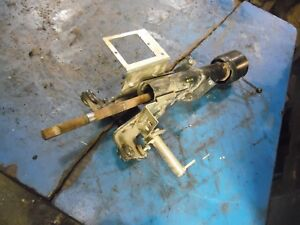 1986 Ford Tw 35 Series 2 Farm Tractor Steering Column Assembly