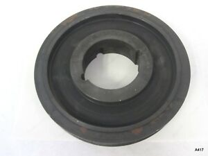 Gates Poly Chain Gt2 Sprocket Pulley Carbon Belt Gray Iron 8mx 80s 36 2517
