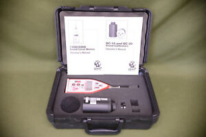 Quest Technologies 2200 Integrating Averaging Audio Sound Level Meter