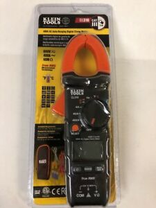 New Klein Tools Cl310 Trms Digital Clamp Meter 400a Ac Current Auto Ranging