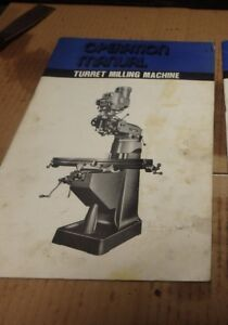 South Bend Lathe Turret Milling Machine Operator s Manual